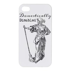 Domestically Disabled Apple Iphone 4/4s Premium Hardshell Case
