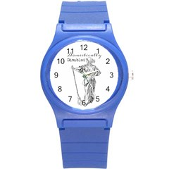 Domestically Disabled Plastic Sport Watch (Small)