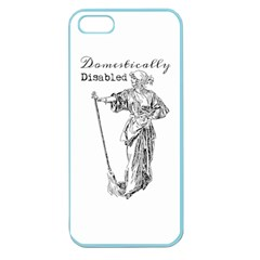 Domestically Disabled Apple Seamless Iphone 5 Case (color)