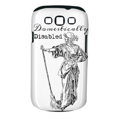 Domestically Disabled Samsung Galaxy S III Classic Hardshell Case (PC+Silicone)