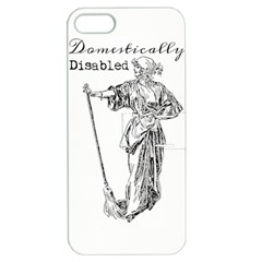 Domestically Disabled Apple iPhone 5 Hardshell Case with Stand