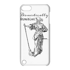 Domestically Disabled Apple iPod Touch 5 Hardshell Case with Stand