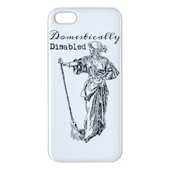 Domestically Disabled Apple Iphone 5 Premium Hardshell Case