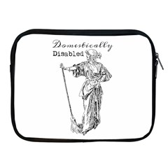 Domestically Disabled Apple Ipad Zippered Sleeve