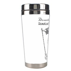 Domestically Disabled Stainless Steel Travel Tumbler