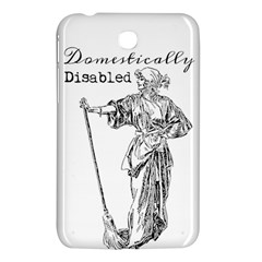 Domestically Disabled Samsung Galaxy Tab 3 (7 ) P3200 Hardshell Case