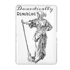 Domestically Disabled Samsung Galaxy Tab 2 (10.1 ) P5100 Hardshell Case
