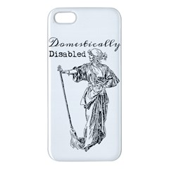 Domestically Disabled iPhone 5S Premium Hardshell Case
