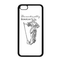 Domestically Disabled Apple iPhone 5C Seamless Case (Black)