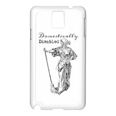 Domestically Disabled Samsung Galaxy Note 3 N9005 Case (White)