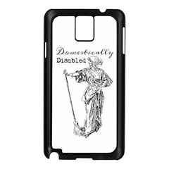 Domestically Disabled Samsung Galaxy Note 3 N9005 Case (Black)