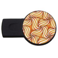 Sunny Organic Pinwheel 4GB USB Flash Drive (Round)