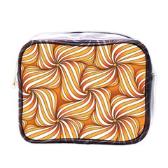 Sunny Organic Pinwheel Mini Travel Toiletry Bag (one Side)