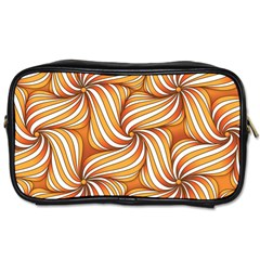 Sunny Organic Pinwheel Travel Toiletry Bag (two Sides)