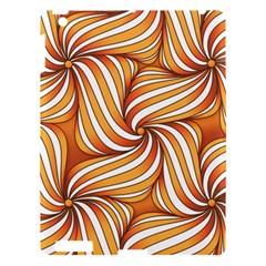 Sunny Organic Pinwheel Apple Ipad 3/4 Hardshell Case
