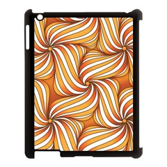 Sunny Organic Pinwheel Apple iPad 3/4 Case (Black)