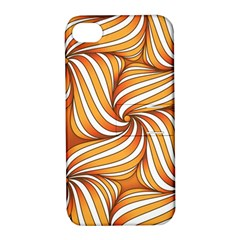 Sunny Organic Pinwheel Apple Iphone 4/4s Hardshell Case With Stand