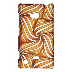 Sunny Organic Pinwheel Nokia Lumia 720 Hardshell Case