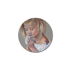 Prayinggirl Golf Ball Marker