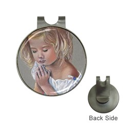 Prayinggirl Hat Clip with Golf Ball Marker