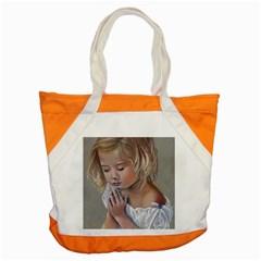 Prayinggirl Accent Tote Bag