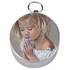 Prayinggirl Silver Compass