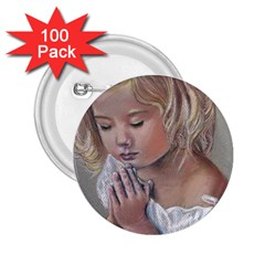 Prayinggirl 2.25  Button (100 pack)