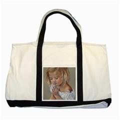 Prayinggirl Two Toned Tote Bag