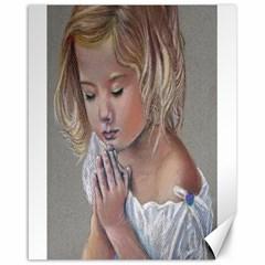 Prayinggirl Canvas 16  x 20  (Unframed)