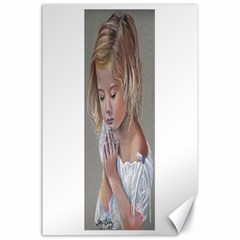 Prayinggirl Canvas 24  X 36  (unframed)