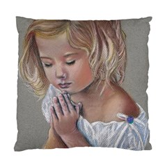 Prayinggirl Cushion Case (Two Sided)