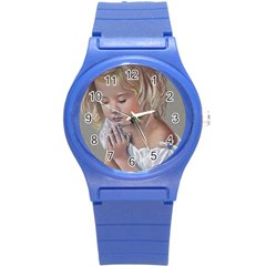 Prayinggirl Plastic Sport Watch (small)