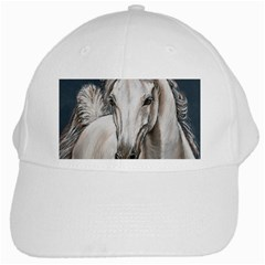 Breeze White Baseball Cap