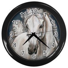 Breeze Wall Clock (Black)