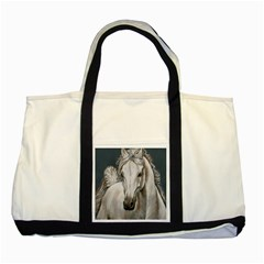 Breeze Two Toned Tote Bag