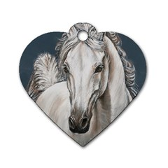 Breeze Dog Tag Heart (Two Sided)