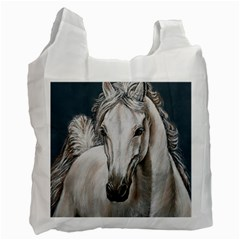 Breeze White Reusable Bag (one Side)