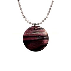 Pier At Midnight Button Necklace
