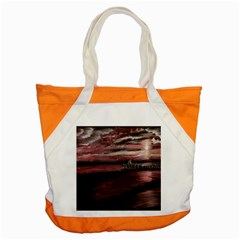 Pier At Midnight Accent Tote Bag