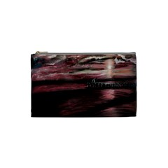 Pier At Midnight Cosmetic Bag (Small)