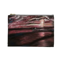 Pier At Midnight Cosmetic Bag (large)