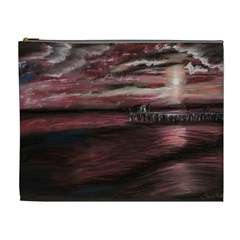 Pier At Midnight Cosmetic Bag (xl)
