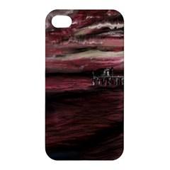 Pier At Midnight Apple Iphone 4/4s Hardshell Case