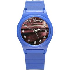 Pier At Midnight Plastic Sport Watch (small)