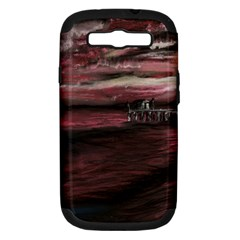 Pier At Midnight Samsung Galaxy S Iii Hardshell Case (pc+silicone)
