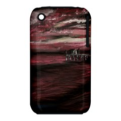 Pier At Midnight Apple iPhone 3G/3GS Hardshell Case (PC+Silicone)