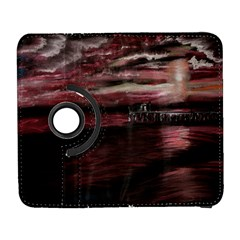 Pier At Midnight Samsung Galaxy S  III Flip 360 Case