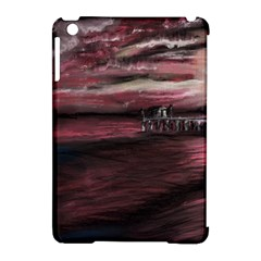 Pier At Midnight Apple Ipad Mini Hardshell Case (compatible With Smart Cover)