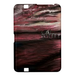 Pier At Midnight Kindle Fire HD 8.9  Hardshell Case