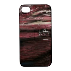 Pier At Midnight Apple iPhone 4/4S Hardshell Case with Stand